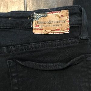 Denim & Supply Ralph Lauren Black Jeans